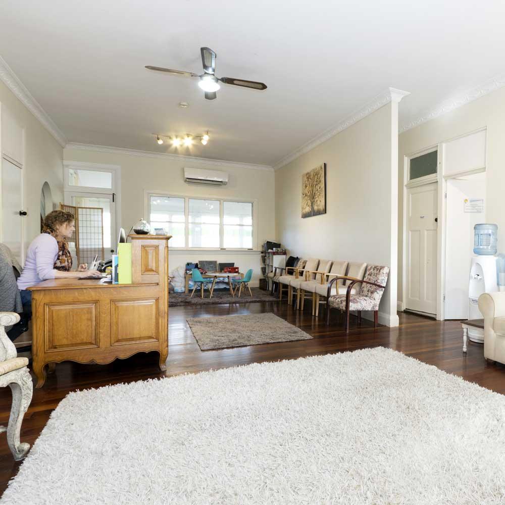 Samford Psychology Clinic Reception Area